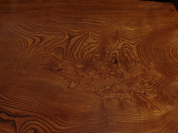 拭漆欅床板
