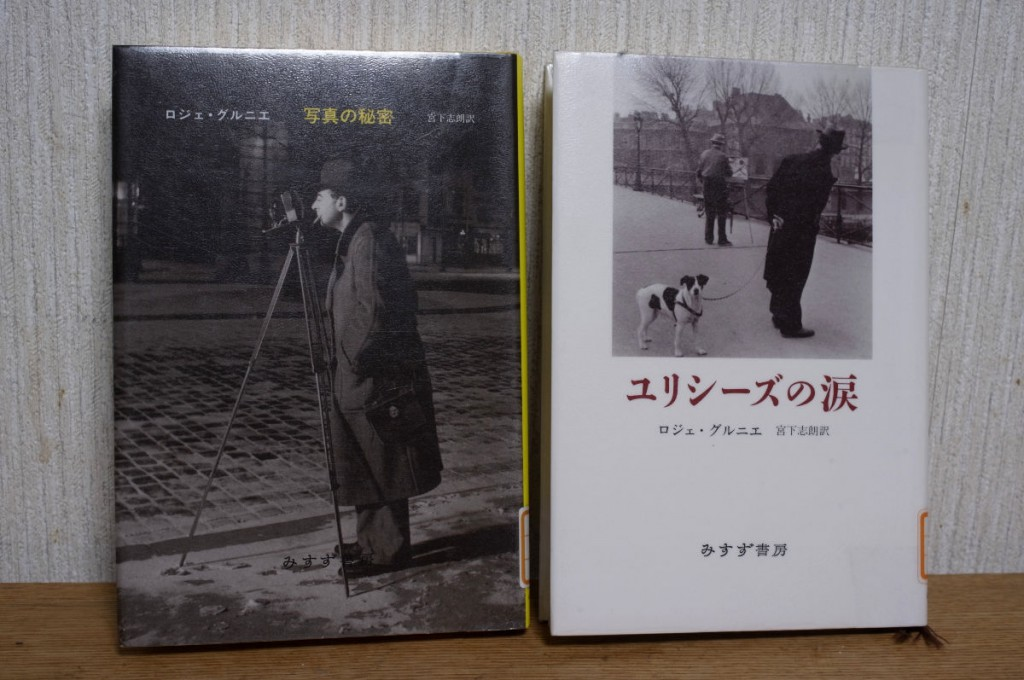 図書館で借りたロジェ・グルニエの本2冊