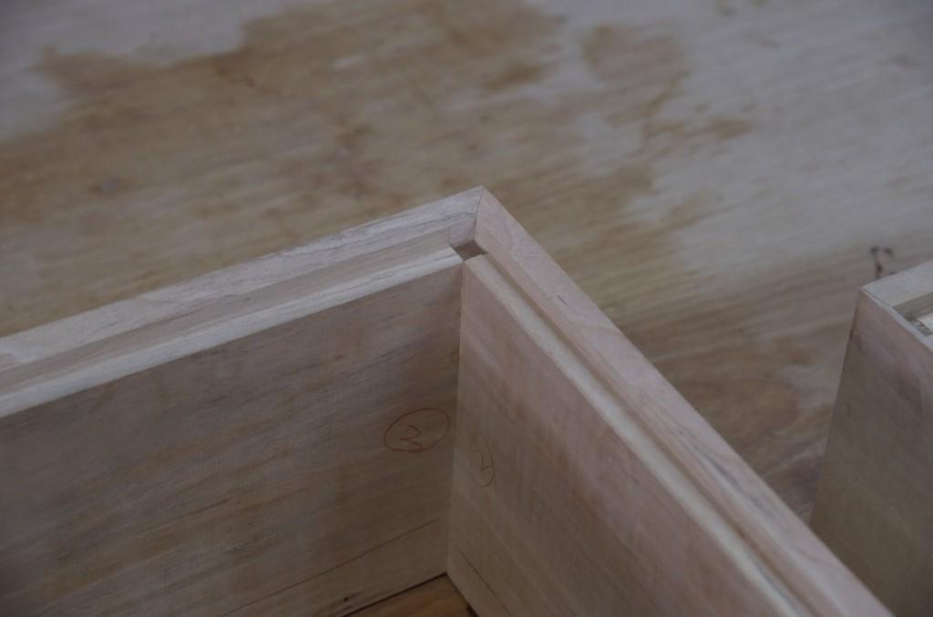 被せ蓋の留部分