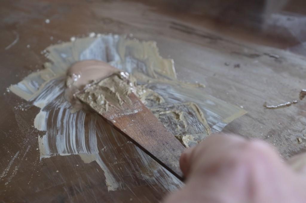 糊漆を作る