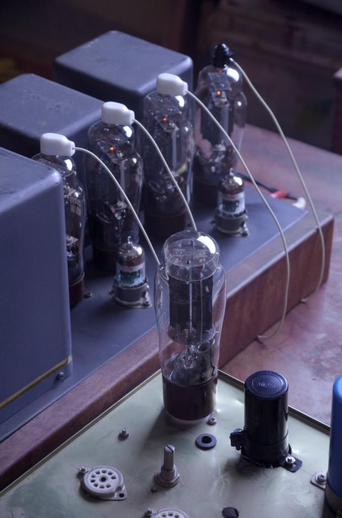 整流回路をGZ37で、バラックで組む