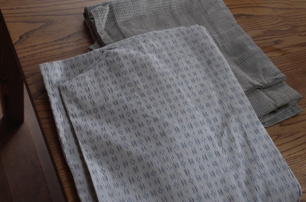 古着の麻の浴衣2枚