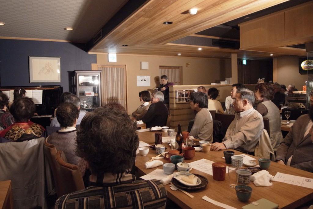 もとやま紗羅餐での Yumi & Mako ピアノ・デュオコンサート