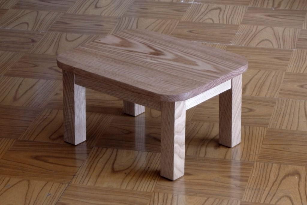 ワークショップでは、小さいテーブルを考えています