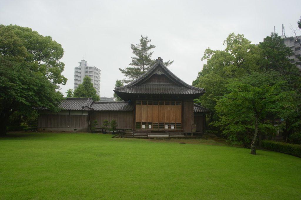 水前寺公園の能楽堂